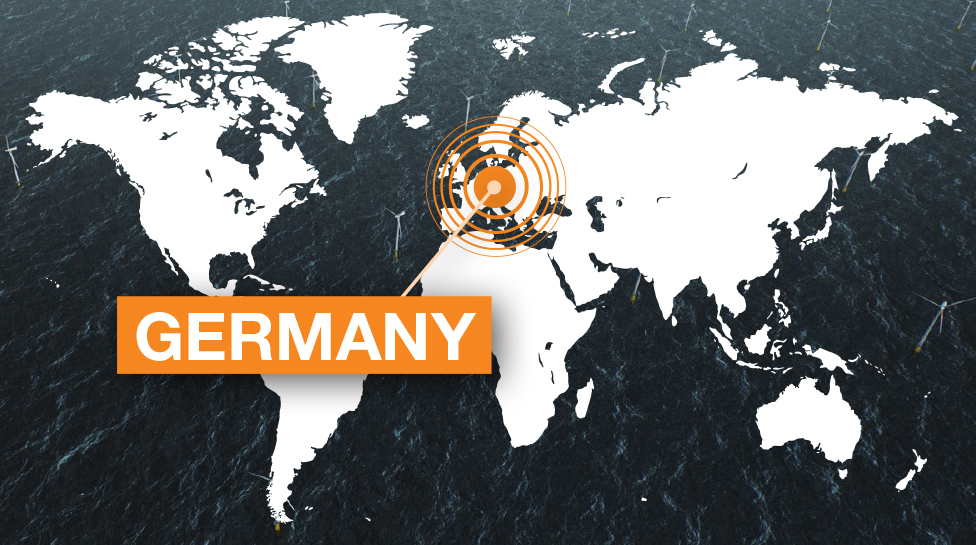 GERMANY world map