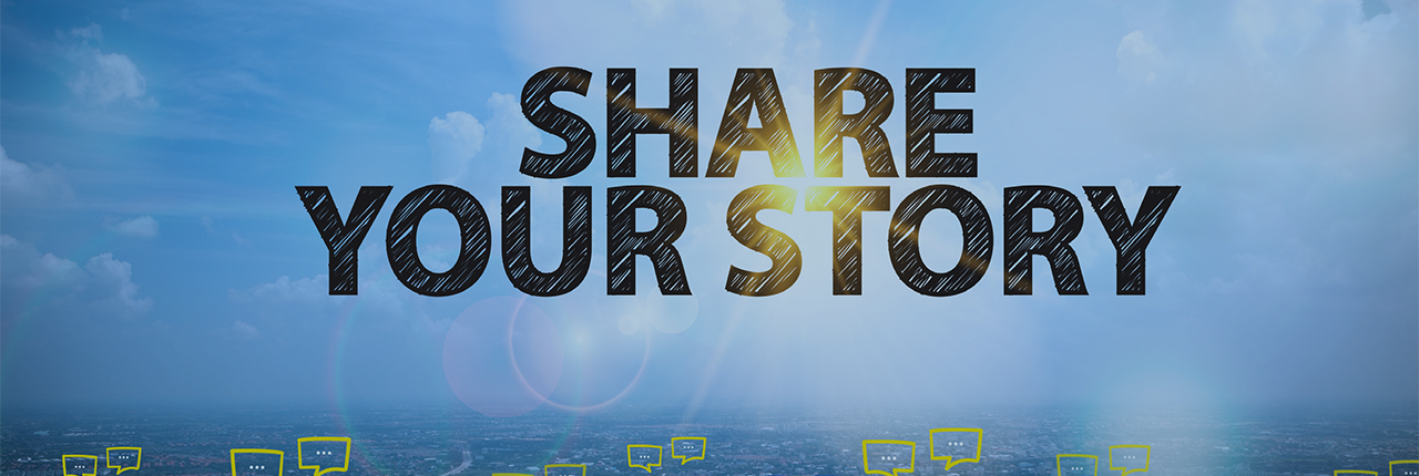 Share your Story 1280 x 430px
